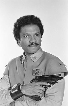 Lando Calrissian - Star Wars. I shook thus guy's hand a couple years ago when I got a picture with him at The Emerald City Comic Con in Seattle!