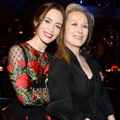 Meryl Streep, James Corden, and Emily Blunt at the Into the Woods Premiere – Vogue