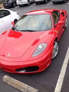 Ferrari at Pasatiempo
