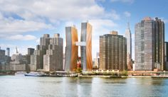 SHoP-Designed Rental Towers Rising In First Avenue Mud Pit - Mindboggling Reveals - Curbed NY