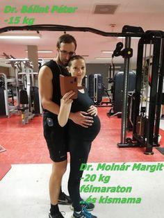 Dr. Molnár Margit, aki egyrészt egy törékeny, bájos anyuka, másrészt viszont a felszín alatt valami hihetetlenül elszánt, jobbra, többre törekvő ember. A Bajnokok Program eredménye nála -20 kg, félmaraton. Dr. Bálint Péter-róla is csak szuperlatívuszokban tudnék beszélni. -15kg, izomépítés ha edzéseket nézünk, egy szuper futó képességeivel. Margit a 2. szülése után kezdett bele a programba, most 3. babájukat várják. Online Programs, Gym Equipment, Sports, Hs Sports, Workout Equipment, Sport