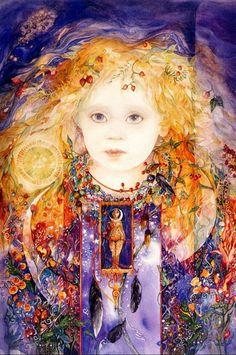 Helen Nelson-Reed   peintre américain visionnaire Aquarelle