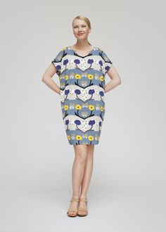 Keltaperhonen dress | Dresses and Skirts | Marimekko