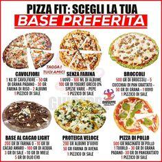 Conseils fitness en nutrition et en musculation. Calories Pizza, 1200 Calories, Tips Fitness, Fitness Nutrition, Nutrition Education, Cooking Recipes, Healthy Recipes, Muscle Food, Big Meals