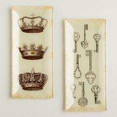 Cost Plus World Market - Victorian Glass Platters - Victorian Isles Collection >> #WorldMarket