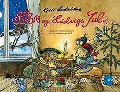 Kjell Aukrust. Norway, Illustrator, Comic Books, Seasons, Comics, Cover, Christmas, Painting, Kiel