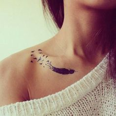 Feathers Tattoo