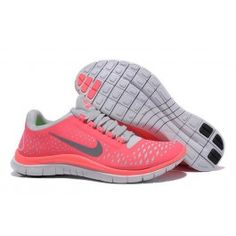 new style d43c1 39747 Nike Free 3.0 V4 Frauen Rosa Silber Pink Running Shoes, Free Running Shoes,  Nike