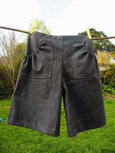 Patch pocket shorts by too crafty, via Flickr  Shorts for the boys. I think I want a pair for myself too!