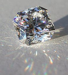 Stunning light show from a well cut diamond - Ladies is not the Size. It is the Quality that Matters ...no one said anything about you. Breathe. Relax :]