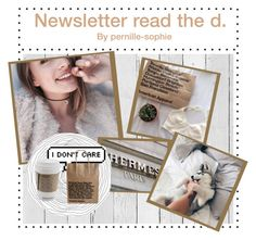 """""""Newsletter 2"""" by pernille-sophie ❤ liked on Polyvore featuring art and 164"""