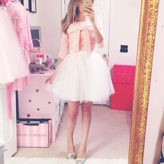 If the skirt was right below the knee it would be perfect!