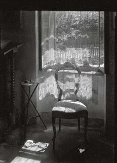 Josef Sudek | The Window Filter | Chair in Janacek's house | 1960