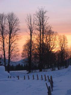 Ramsau - Austria Austria, Beautiful Places, Mountain, Celestial, Sunset, Outdoor, Outdoors, Sunsets, Outdoor Games