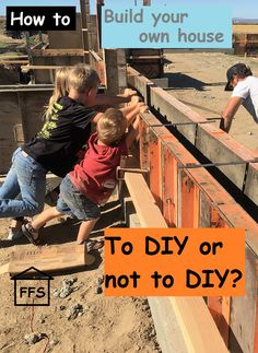 How to build your own house. to DIY or not to DIY? Step 7: Shopping for sub contractors