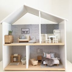 """A """"theme"""" operates through the Sites and pages of this network world: Ikea Hacks. Ikea Dollhouse, Wooden Dollhouse, Dollhouse Furniture, Victorian Dollhouse, Diy Kallax, Kitchen Ikea, Decoration Ikea, Doll House Plans, Ikea Home"""