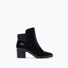 ELASTIC ANKLE BOOT WITH HEEL-Shoes-Woman-SHOES & BAGS | ZARA United States