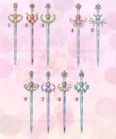 Sailor Moon Weapon Adoption 27 CLOSED by Forged-Artifacts on DeviantArt