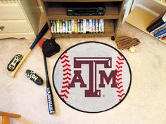 Texas A&M University Baseball Mat