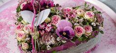 Floristik-Musterkalkulation: Blütenherz zum Valentinstag