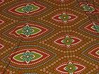 Brown  Green Tropical Spandex Print Fabric SOLD BY THE YARD $1.50 - amp, #green, $1.50, Brown, fabric, Print, SOLD, SPANDEX, Tropical, yard