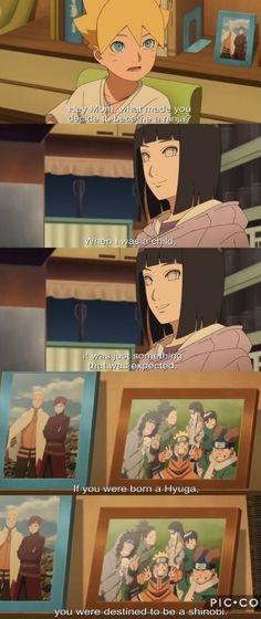 Boruto asks Hinata about being a ninja 😍❤️❤️❤️ Boruto Ep 35 Hinata Hyuga, Naruto Shippuden, Naruhina, Naruto Funny, Naruto And Hinata, Anime Naruto, Manga Anime, Familia Uzumaki, Uzumaki Family