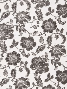 Greta wallpaper in color Cream Black from Fabricut's Gilded Glamour wallcovering collection.