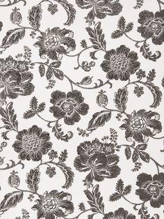 Fabricut Greta Cream Black