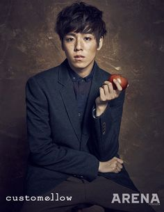 Lee Hyun Woo - ARENA HOMME PLUS FEATURING CUSTOMELLOW F/W 2013 collection