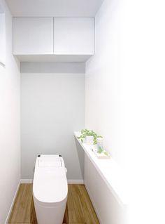 #収納 #サニタリー #トイレ #トイレ収納 #サニタリー収納 #トイレ上部収納 ギャラリー | 製品情報 | 南海プライウッド株式会社 Toilet, Bathroom, House, Space, Washroom, Floor Space, Home, Litter Box, Haus