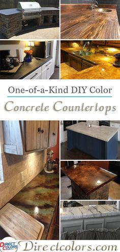 Indoor Outdoor Diy Concrete Countertops Directcolors
