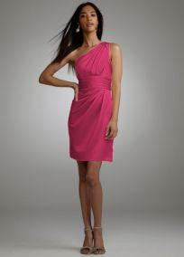 1 shoulder dress