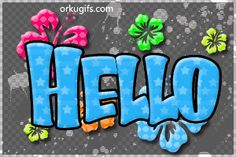 animated gif waving hello graphics, images, quotes and e-cards to send to your friends Good Morning Love Gif, Good Night Gif, Hello Pictures, Hello Pics, Inspirational Easter Messages, Hi Gif, Hello Quotes, Glitter Gif, Glitter Images