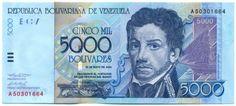 Video Interactivo: Los Billetes de 5.000 Bs. (año 2000) y 50.000 Bs.(año 1998)  Lee el artículo completo AQUI: Video Interactivo: Los Billetes de 5.000 Bs. (año 2000) y 50.000 Bs.(año 1998)  Los Billetes de 5.000 Bs. (año 2000) y 50.000 Bs.(año 1998) Video Interactivo. Por Víctor Torrealba Para finales del finales del año 2000 el Banco Central de Venezuela ya tenia en circulación los billetes de Bs.5.000 y Bs.50.000 que en su momento completaban la familia de billetes venezolanos. El billete…
