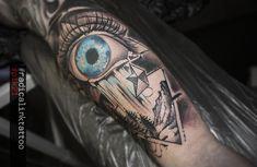 #blueeye by #pik21 #radicalinktattoo Ink, Tattoos, Instagram, Tatuajes, Tattoo, India Ink, Tattos, Tattoo Designs