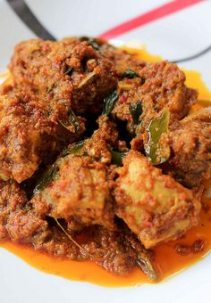Rendang Ayam by Dapur Malaysia, via Flickr Indian Food Recipes, Asian Recipes, Ethnic Recipes, Indonesian Cuisine, Indonesian Recipes, Malaysian Food, Malaysian Recipes, Caribbean Recipes, Caribbean Food