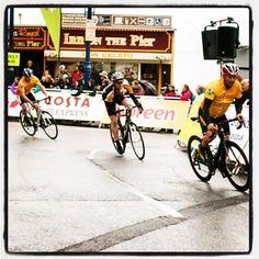 #Day15 of #100HappyDays – of #Faberystwyth: Street racing ================  #Diwrnod15 of #100DiwrnodHapus - #Ffaberystwyth: Rasio ar y stryd #aberystwyth #wales #racing #tourseries #cycling
