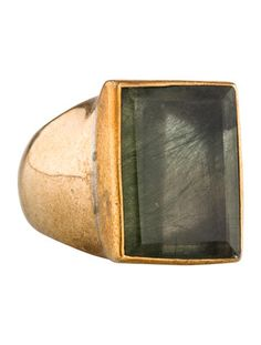 Stephen Dweck Rutilated Quartz Ring