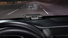 Garmin has announced its first portable Head-up Display for smartphone navigation apps, which has been appropriately-named the HUD.