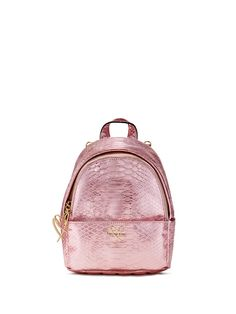 Luxe Python Mini City Backpack - Victoria's Secret