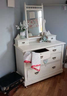 Shabby Chic French Country Farmhouse bedroom by Foundintheloft, £200.00