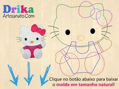 Customização: Camiseta com Hello Kitty em patch aplique