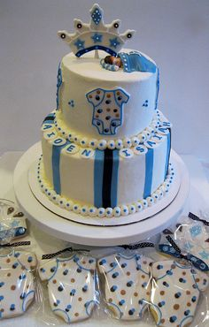 Little Prince Baby Shower by Cake Tales, via Flickr