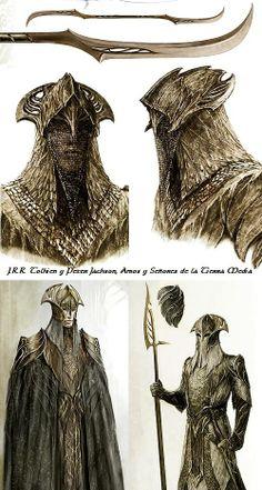 Elfos guerreros de Mirkwood