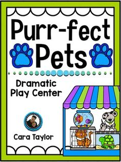 This dramatic play center, Purr-fect Pets, is ready for your students to use, create, and imagine with!  Included is all they'll need to pretend they're operating a Pet Shop, complete with open and closed signs!  It is literacy rich and full of speaking opportunities for your students.More specifically, you'll find in this unit:~Purr-fect Pets Shop Sign~Open and Closed Signs~Differentiated Pet Ads (Varied Pet Amounts)~Aisle Signs~Sale Flyers~Staff Hat~Staff Nametags~Word Wall Cards~Order…