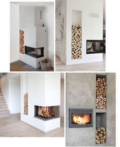 Sponsrat inlägg: Frimurad kamin från Contura (Trendenser) - New Deko Sites Home Fireplace, Modern Fireplace, Living Room With Fireplace, Fireplace Design, Home Living Room, Living Room Designs, Living Room Decor, Scandinavian Fireplace, Fireplace Ideas