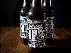 typographic beer label - Google zoeken