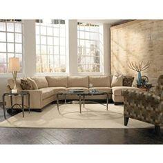 Levin Furniture 405 Collection Pattern Splash Color Smoke