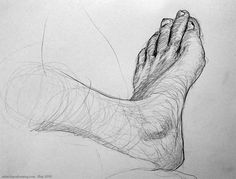 Image result for foot drawings