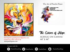 """""""Your attitude is like a box of crayons that color your world. Constantly color your picture gray, and your picture will always be bleak. Try adding some bright colors to the picture by including humor, and your picture begins to lighten up. """" - Allen Klein  #TheArtofPanchoPiano #HagodPaintings #TheColorsofHope #ColorsofHumility  For Inquiries: panchopiano22@yahoo.com Contact no.: 0917.534.32.38 Visit: www.panchopiano.com"""